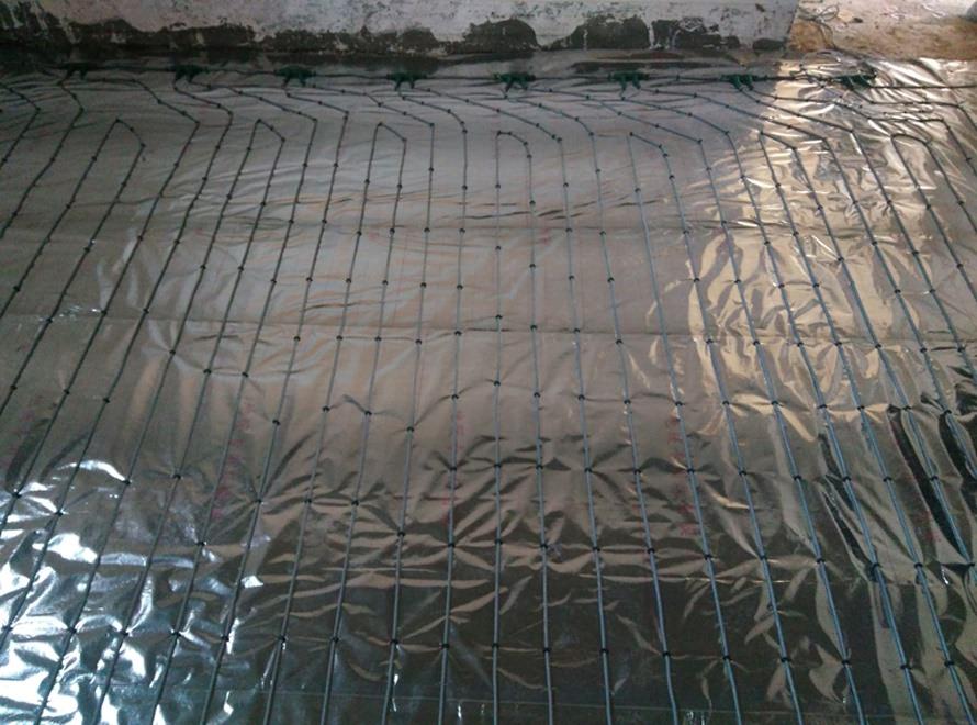 双层硅胶电地暖发热线